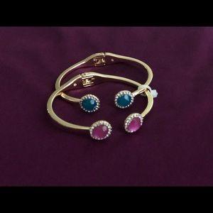 Macy's hand bracelet pair of two - set of 2